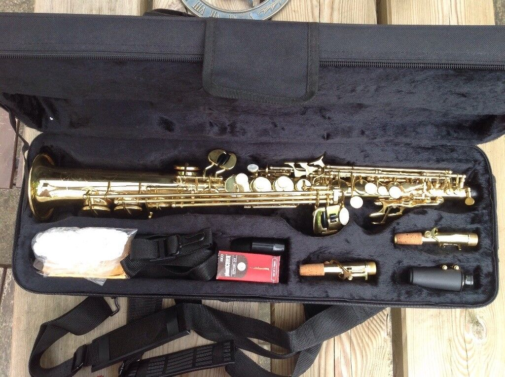 Soprano saxophone, brand new, straight and curved neck  Near Bristol  | in  Somerset | Gumtree