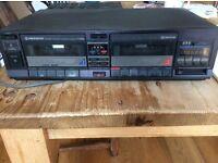 Pioneer double cassette deck
