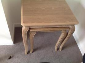 Marks & Spencers Limed Oak Tables