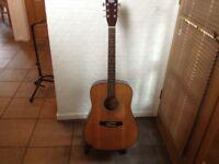 Tanglewood acoustic guitar..