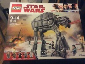 "Lego Star Wars -""First Order-Heavy assault Walker"" BNIB"