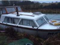 Boat Eastwood 24ft cruiser or live aboard project