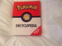 Pokemon Encyclopedia book