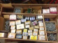 Large quantity of Assorted Wood Screws