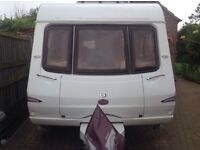 2005 swift lowick two berth caravan
