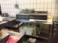 Commercial griddle,in daily use,£450.00