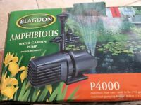 BLAGDON AMPHIBIOUS WATER GARDEN PUMP P4000
