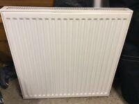 Double panel single convector radiator