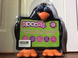 Kooky penguin iPad case for I pad 5/I pad air