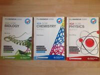 GCSE Science Revision Guides (Three Books)