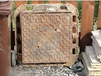 Drain covers 2 of £25 each