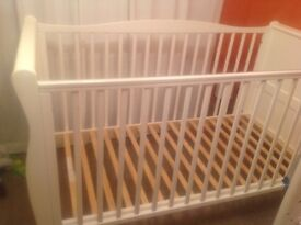 White Cot for sale very good condition - no mattress
