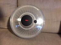 oxo good grips sald spinner large, centrifugal action, used a few times but too big for my use.