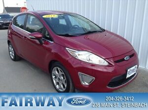 2011 Ford Fiesta SES 4D Hatchback Leather!  Moonroof!