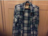Hollister men's medium sized check shirt.