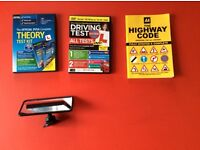 Learner driver test pass dvds, Highway Code and test mirror
