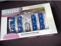 Homedics foot massager, as new, boxed