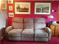 Laz-y-boy Recliner Sofa