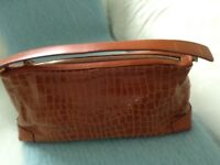 Collectable Jaeger Leather Handbag NEVER USED!!