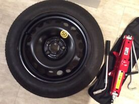 Vauxhall Mokka Spare Wheel Kit