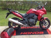 Low mileage sports tourer Honda CBF1000 FA-B This bike is powered by the Honda Fireblade motor.