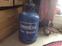 Calor gas bottle, full, 15 kg, east london