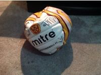 Signed Motherwell FC tops and ball