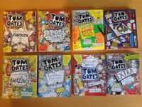 Collection of 8 Tom Gates books by L. Pichon