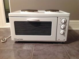 Russell Hobbs 2hob electric cooker/oven
