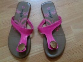 4 pairs of Size 12 summer shoes, sandal and water shoe bundle