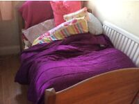 IKEA EXTENDING BED COT TO FULL SINGLE HARDLY USED