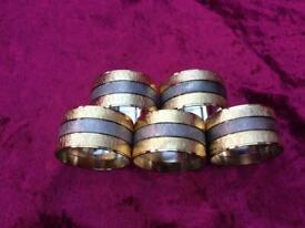 Metal Serviette/Napkin Rings