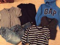 Designer clothes bundle jean bourget, gap 4-5