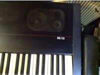 Kurzweil RG100 digital piano , in furniture , with stand, seat etc