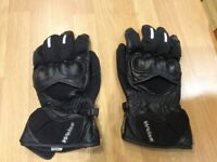 Weise motor cycle gloves