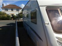 Swift Challenger 540 Caravan 2006, single axle, fixed bed