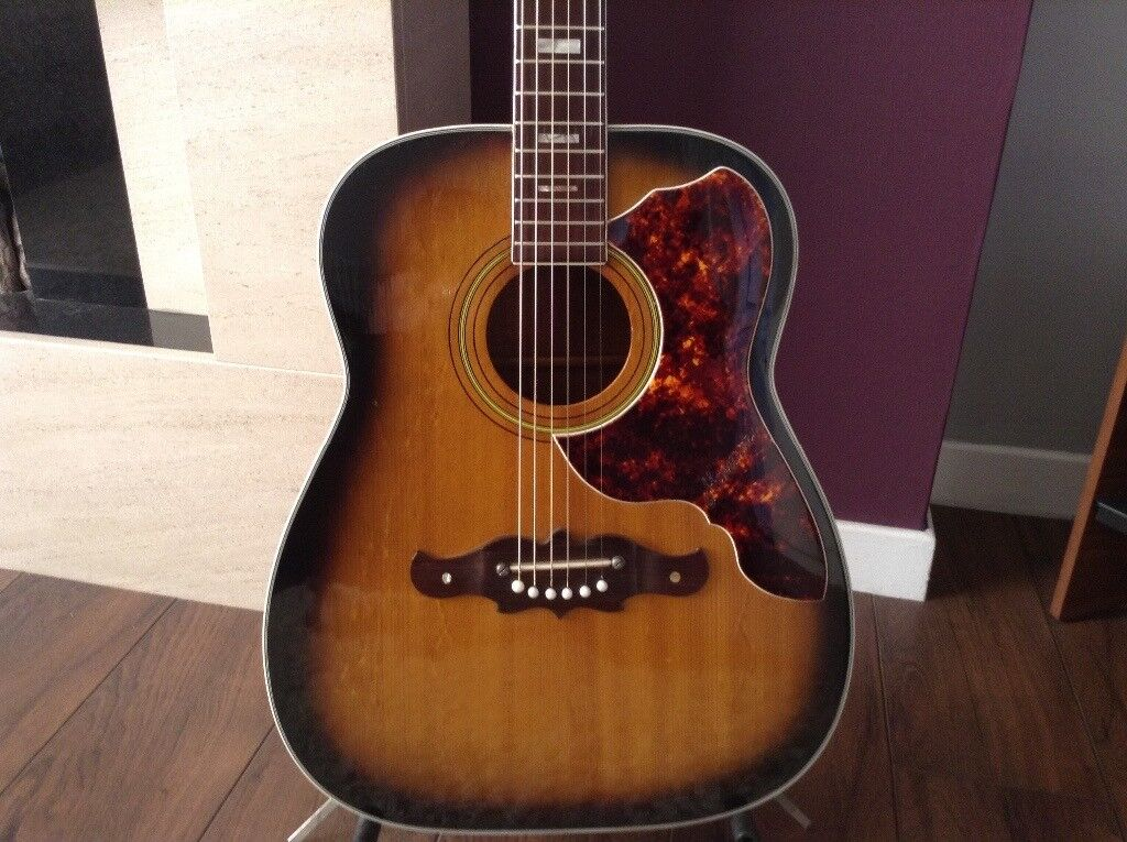 Harmony Sovereign H1265 Vintage Accoustic Guitar In Uddingston