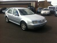 2005 VW BORA HIGHLINE 130BHP 1 OWNER SERVICE HISTORY LONG MOT PX WELCOME £895
