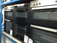 Electric double oven new graded 12 months Gtee £230