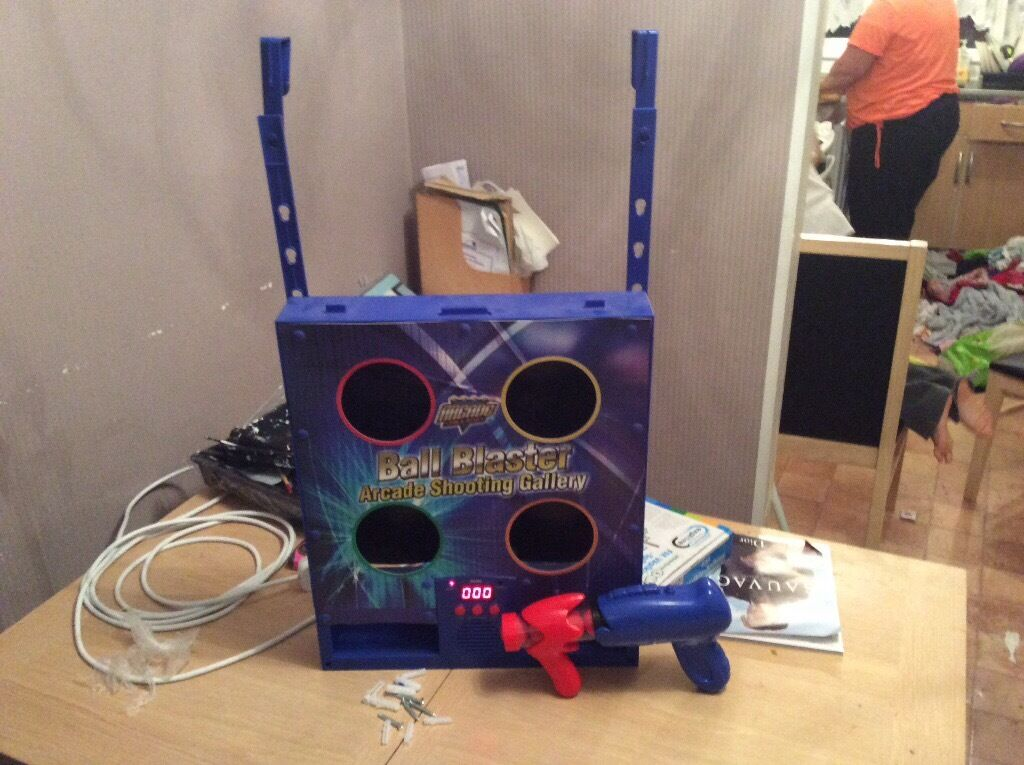 Electronic ball blasterin Chelmsford, EssexGumtree - Electronic module with infrared scoring and arcade electronic sounds in good condition