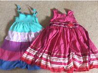 Girls dresses 2-3 years