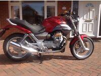 Moto Guzzi Breva 750, 2005. Full years MOT.