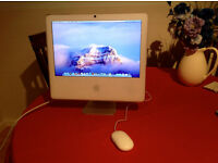 APPLE iMAC INTEL CORE 2 DUO ALL-IN-ONE 2007. FIRST CLASS ORDER