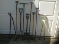 Garden Hand Tools Assorted £7.00 The Lot