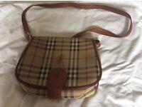 Genuine Burberry bag.