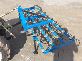 New Grass harrow for compact tractor