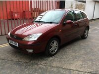 FOCUS 1.6CC FULL MOT 5 DOOR 2005 METALLIC RED £995 MAY PX