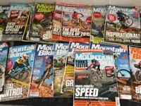 Collection of MBUK mags Mountain Bike magazines