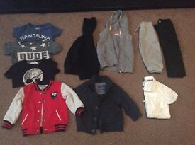 boys clothes bundle 1.1/2 - 2 years