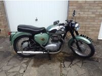 Classic BSA Motorcycle 1963 A50 Star For Sale £3500